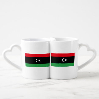 Libya Flag Coffee Mug Set