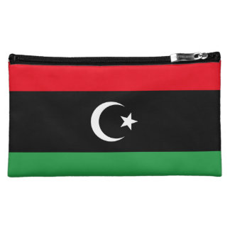 Libya Flag Cosmetic Bag
