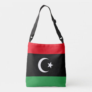 Libya Flag Crossbody Bag
