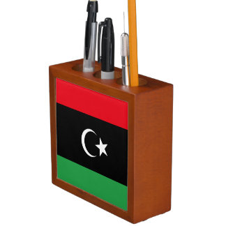 Libya Flag Desk Organizer