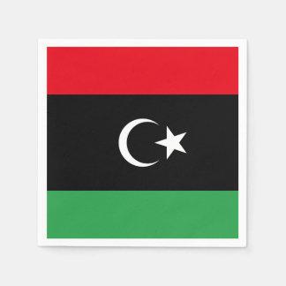 Libya Flag Disposable Napkins