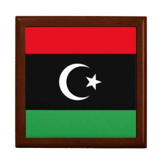 Libya Flag Jewelry Box