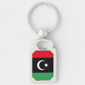 Libya Flag Keychain
