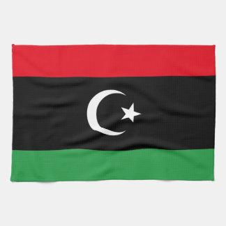 Libya Flag Kitchen Towel