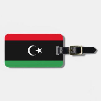 Libya Flag Luggage Tag