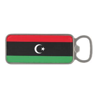 Libya Flag Magnetic Bottle Opener