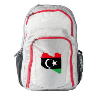 Libya Flag/Map