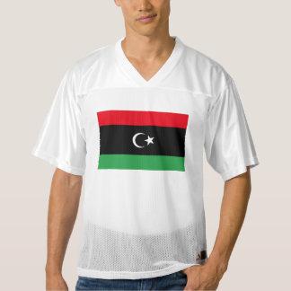 Libya Flag Men's Football Jersey