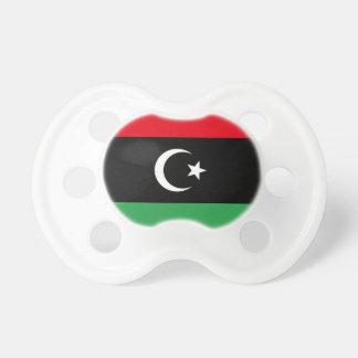 Libya Flag Pacifier