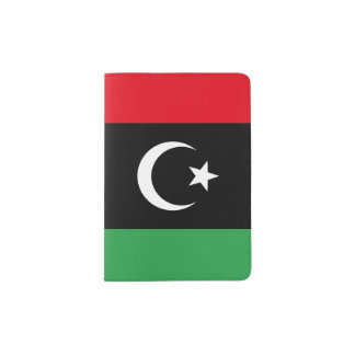 Libya Flag Passport Holder