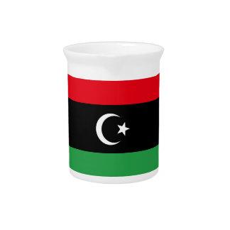 Libya Flag Pitcher