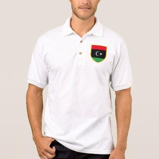 Libya Flag Polo Shirt