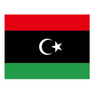 Libya Flag Postcard