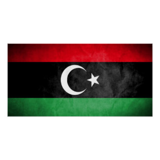 Libya Flag Poster