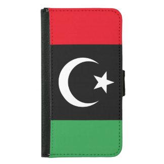 Libya Flag Samsung Galaxy S5 Wallet Case