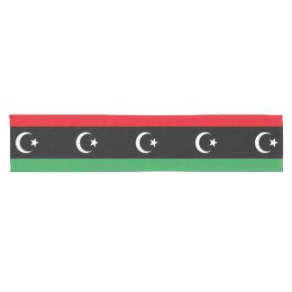 Libya Flag Short Table Runner