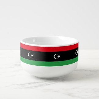 Libya Flag Soup Mug