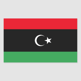 Libya Flag Sticker