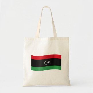 Libya Flag Tote Bag