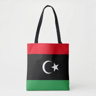 Libya Flag Tote Bag