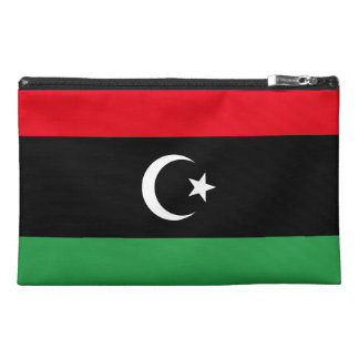 Libya Flag Travel Accessory Bag