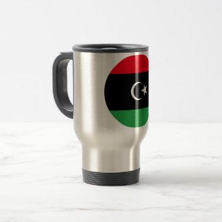 Libya Flag Travel Mug