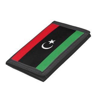 Libya Flag Tri-fold Wallet