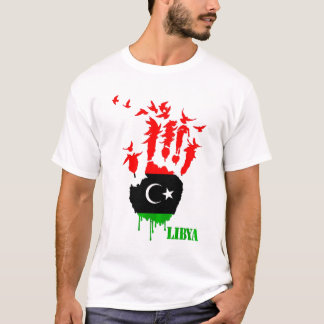 Libya Flying Hands T-Shirt