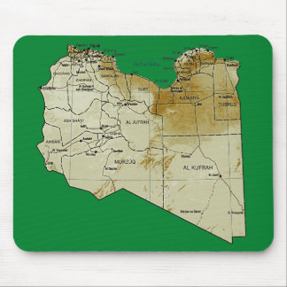 Libya Map Mousepad