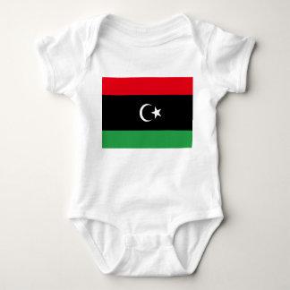 Libya National World Flag Baby Bodysuit