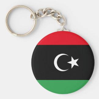 Libya National World Flag Keychain