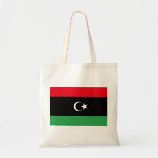 Libya National World Flag Tote Bag