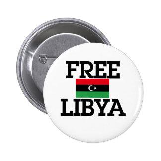 Libya Revolution 2 Inch Round Button