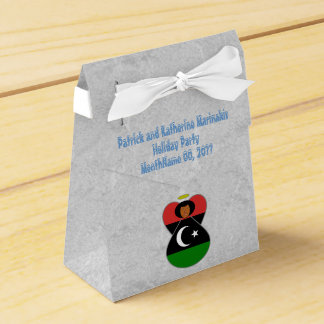 Libyan Angel Flag Party Favor Box