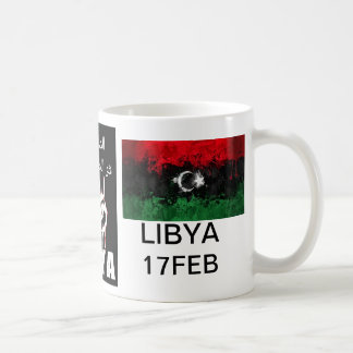 Libyan blood is the red line coffee mug