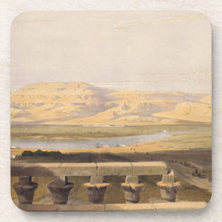 Libyan Chain of Mountains from the Temple of Luxor Coaster