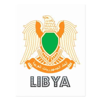 Libyan Emblem Postcard