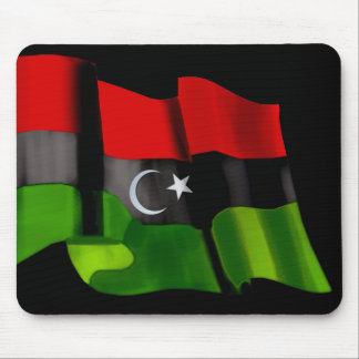 Libyan flag of Libya Independence Monarchy flag Mouse Pad