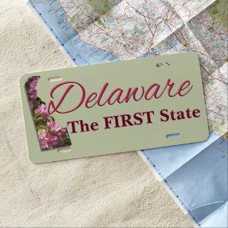 License Plate - DELAWARE