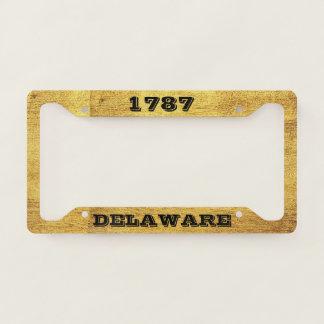 License Plate Frame Delaware