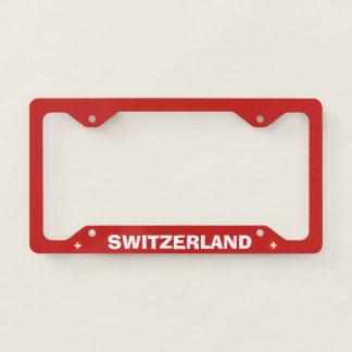 License Plate Frame Switzerland