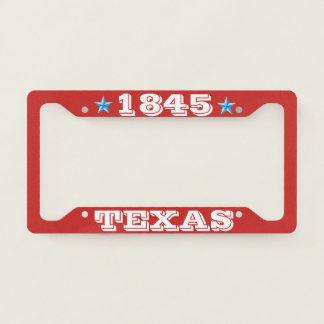 License Plate Frame Texas