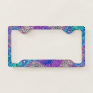 License Plate Holder--Kaleidoscope Licence Plate Frame