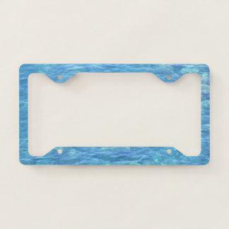 License Plate Holder--Tidepool License Plate Frame