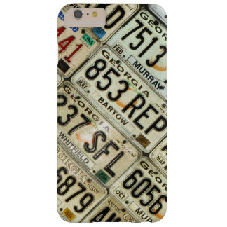 License Plates Barely There iPhone 6 Plus Case