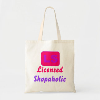Licensed Shopaholic Tote Bag