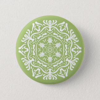 Lichen Mandala 2 Inch Round Button