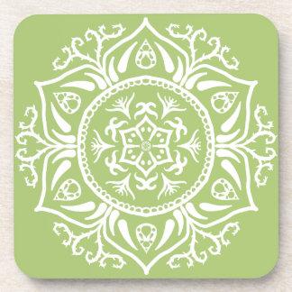 Lichen Mandala Coaster