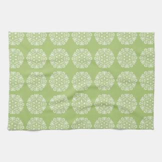 Lichen Mandala Kitchen Towel