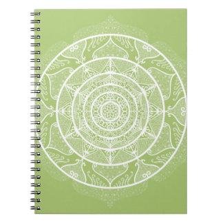 Lichen Mandala Notebook